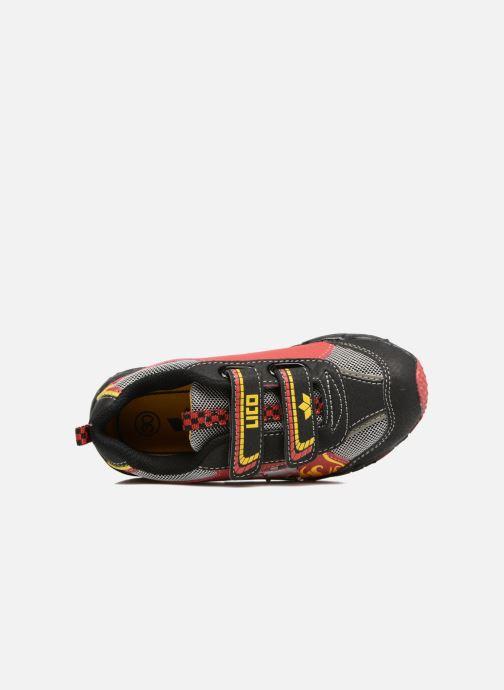 Sneaker LICO Hot V Blinky schwarz ansicht von links