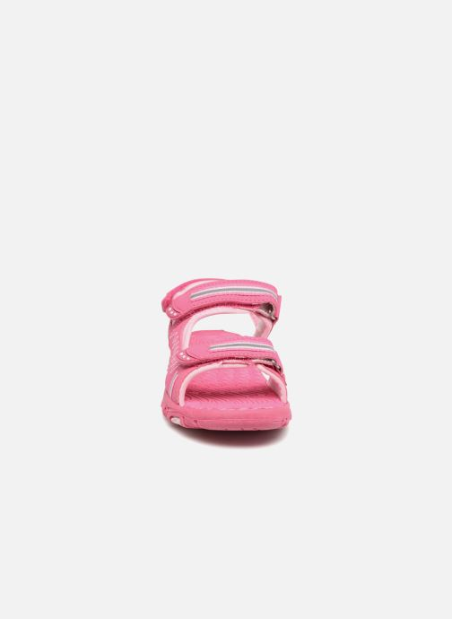 Sandalen LICO Crispy V rosa schuhe getragen