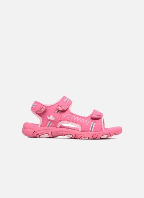 Sandalen LICO Crispy V rosa ansicht von hinten