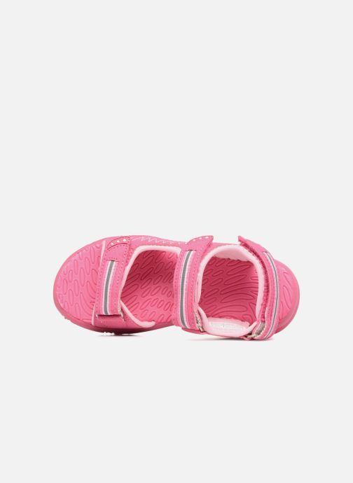 Sandalen LICO Crispy V rosa ansicht von links