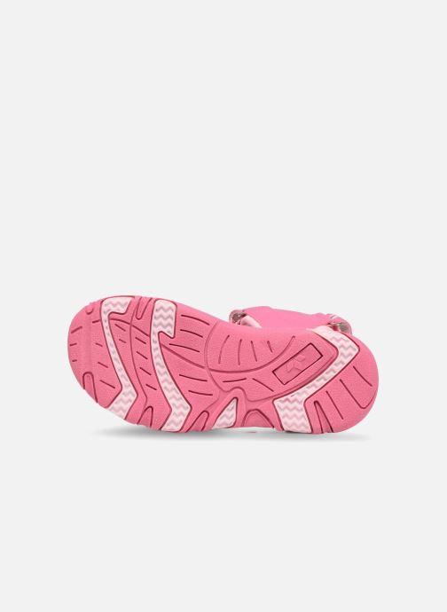 Sandalen LICO Crispy V rosa ansicht von oben