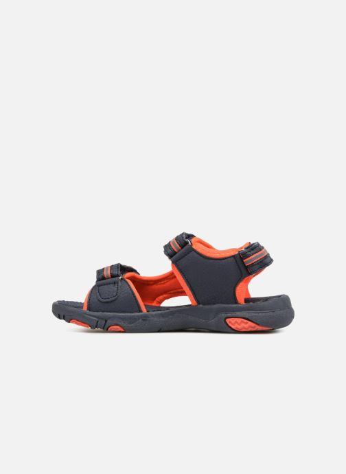 Sandals LICO Crispy V Blue front view