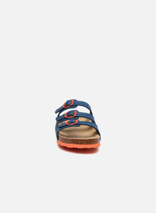 Sandales et nu-pieds LICO Bioline Kids Bleu vue portées chaussures