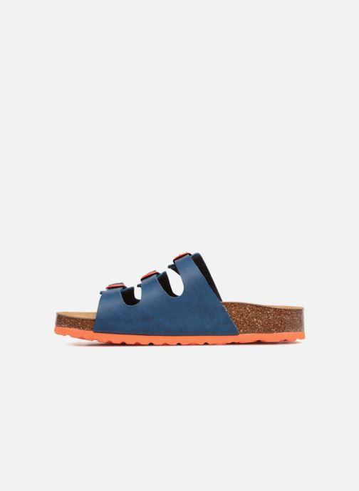 Sandales et nu-pieds LICO Bioline Kids Bleu vue face
