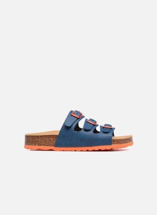 Sandales et nu-pieds LICO Bioline Kids Bleu vue derrière