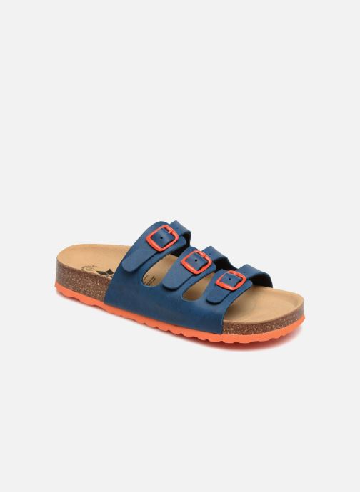 Sandals LICO Bioline Kids Blue detailed view/ Pair view