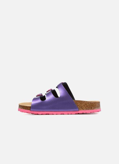 Sandales et nu-pieds LICO Bioline Kids Violet vue face