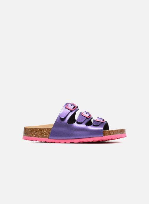 Sandales et nu-pieds LICO Bioline Kids Violet vue derrière