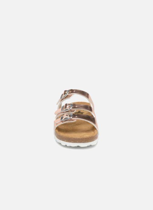 Sandales et nu-pieds LICO Bioline Kids Argent vue portées chaussures