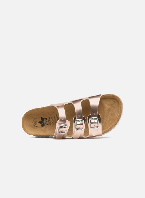 Sandals LICO Bioline Kids Silver view from the left
