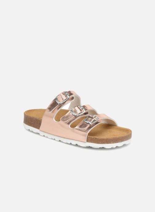 Sandals LICO Bioline Kids Silver detailed view/ Pair view