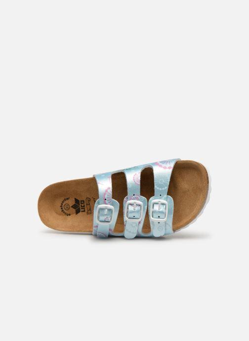 Sandales et nu-pieds LICO Bioline Kids Argent vue gauche