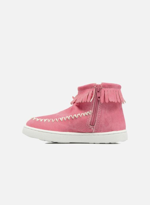 Ankle boots Esprit JOJO FRINGY Red front view