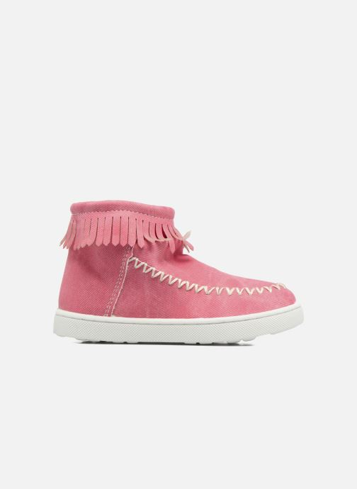 Boots en enkellaarsjes Esprit JOJO FRINGY Rood achterkant