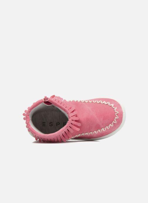 Boots en enkellaarsjes Esprit JOJO FRINGY Rood links