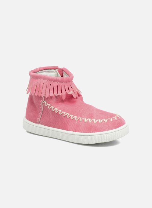 Boots en enkellaarsjes Esprit JOJO FRINGY Rood detail