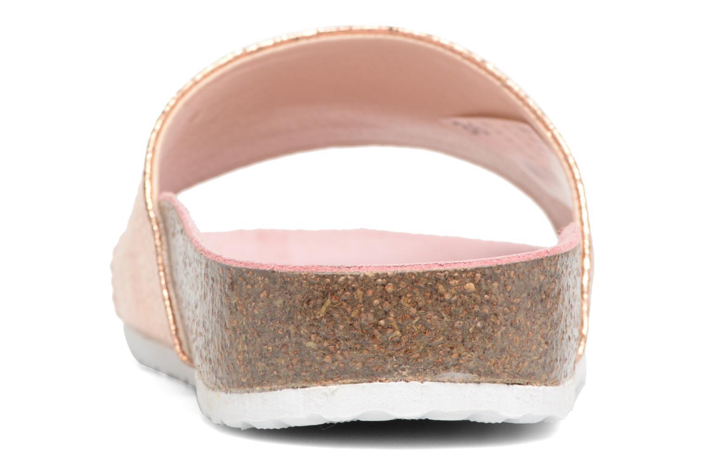 Sandales et nu-pieds Esprit LEA METAL MULE Or et bronze vue droite