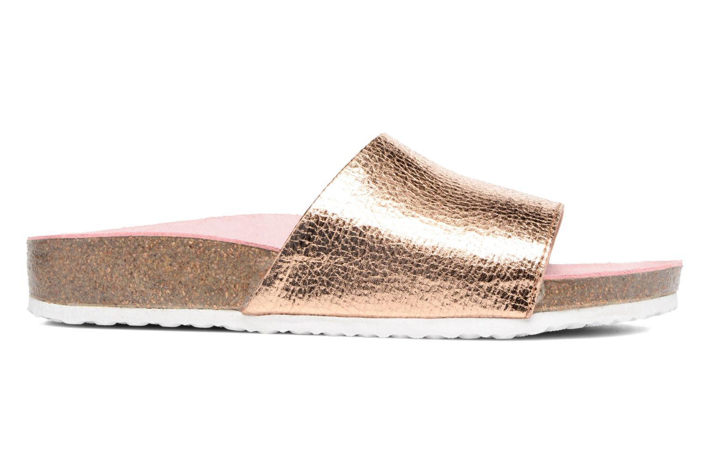 Sandales et nu-pieds Esprit LEA METAL MULE Or et bronze vue derrière
