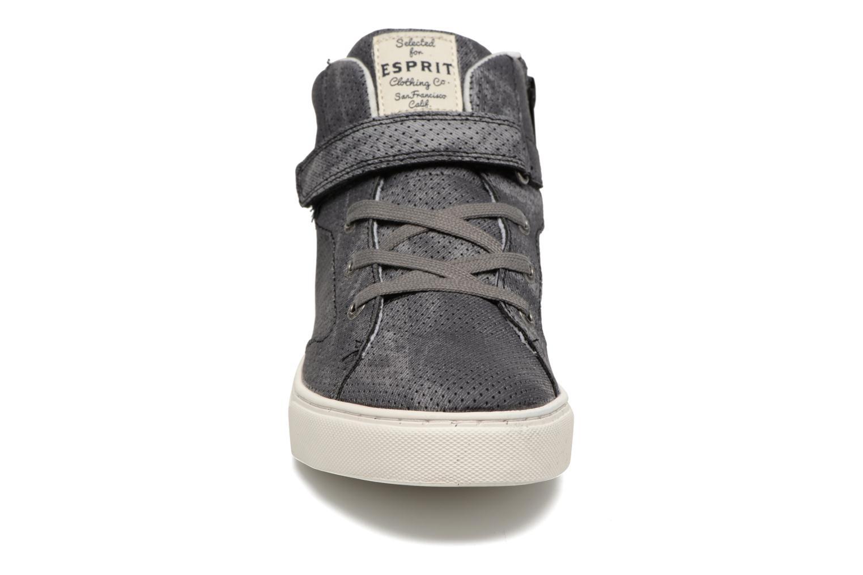 Baskets Esprit FILOOU BOOTIE Gris vue portées chaussures