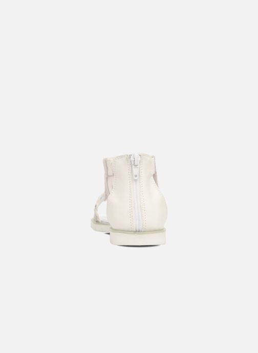 Sandales et nu-pieds ASSO Baccara Blanc vue droite