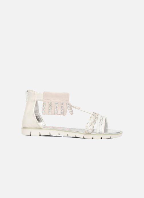 Sandales et nu-pieds ASSO Baccara Blanc vue derrière
