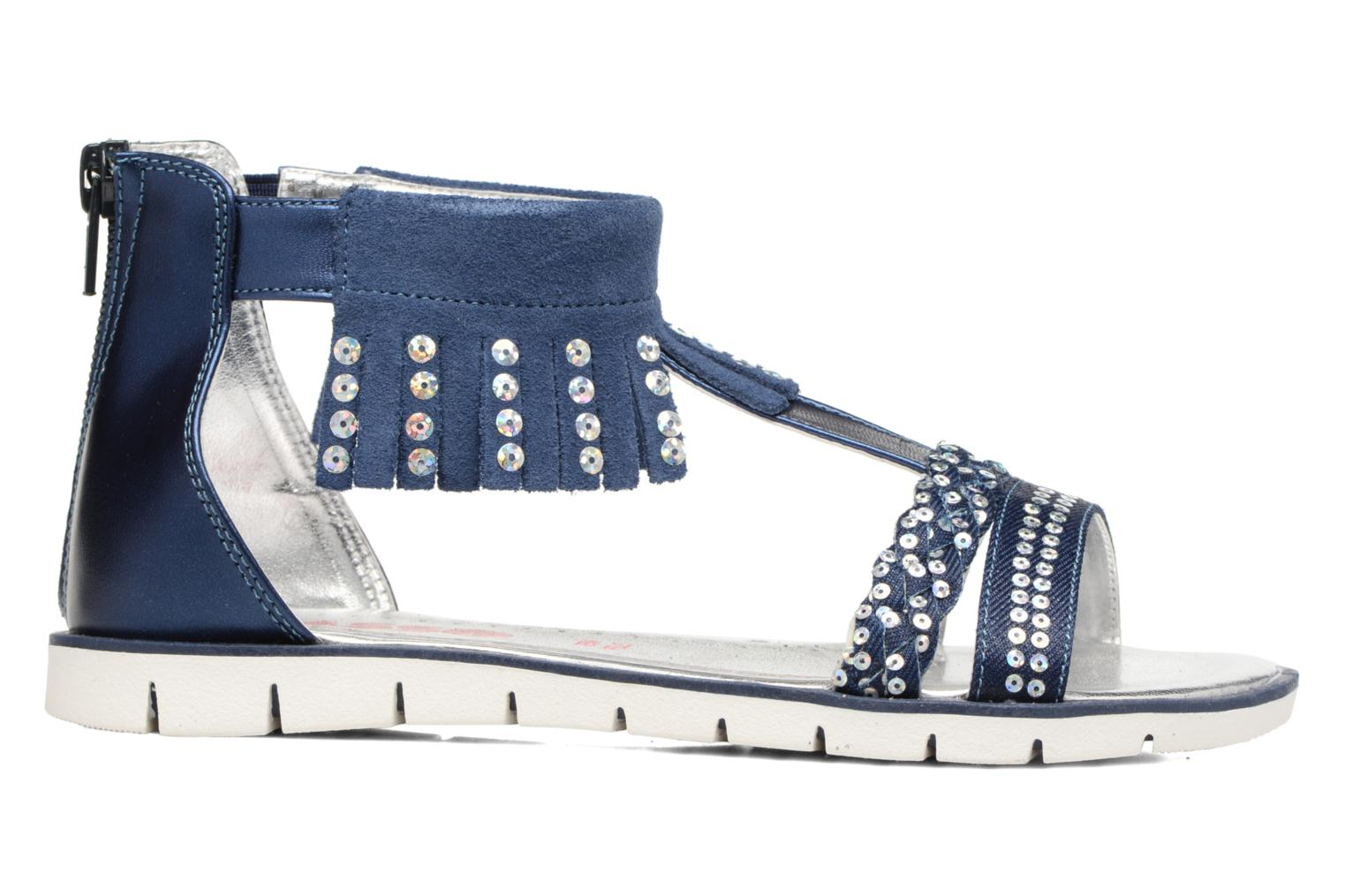 Sandals ASSO Baccara Blue back view