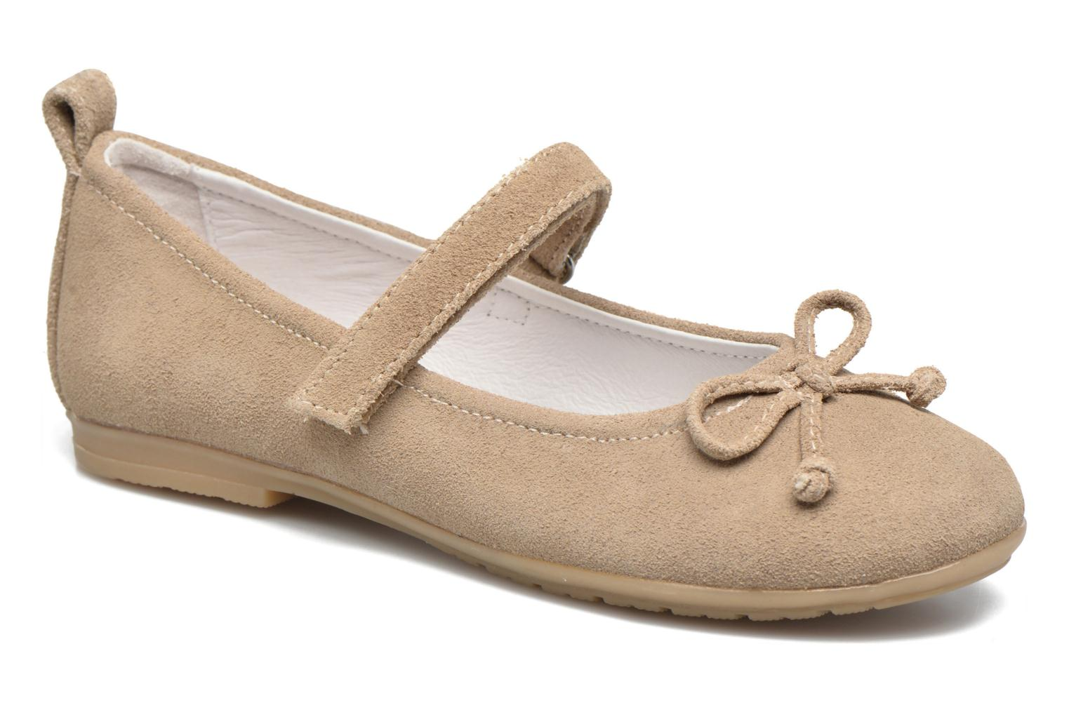 Ballet pumps ASSO Camelia Brown detailed view/ Pair view