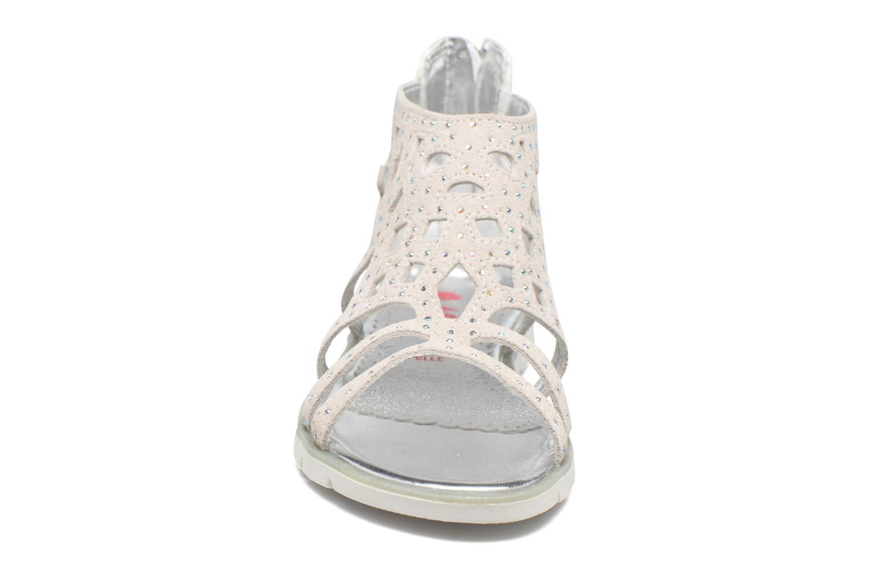 Sandales et nu-pieds ASSO Donata Gris vue portées chaussures