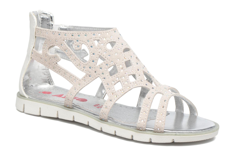 Sandales et nu-pieds ASSO Donata Gris vue détail/paire