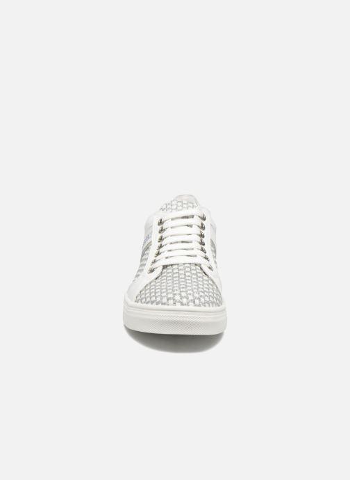 Baskets ASSO Flavia Blanc vue portées chaussures
