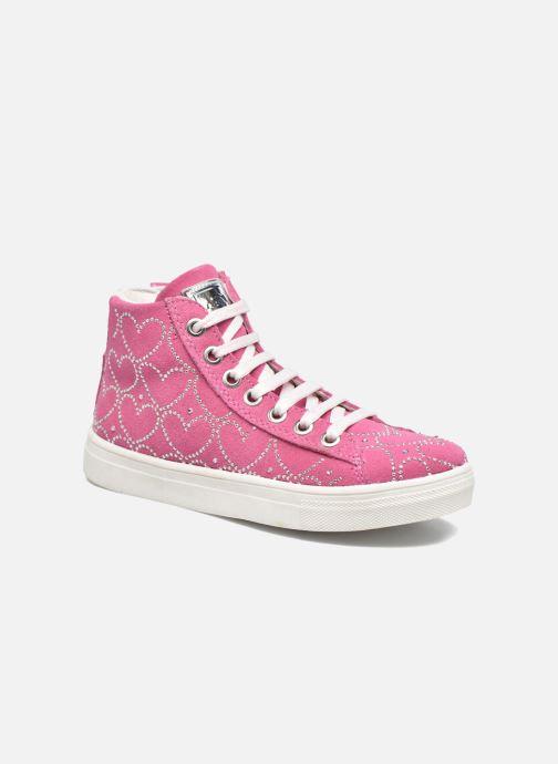 Sneakers ASSO Dora Pink detaljeret billede af skoene