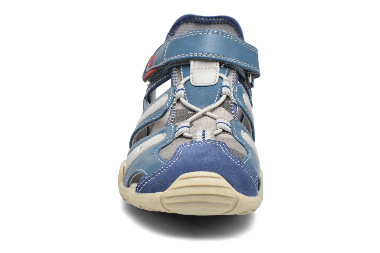 Sandalen ASSO Rodrigo blau schuhe getragen