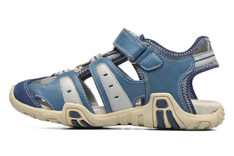 Sandalen ASSO Rodrigo blau ansicht von vorne