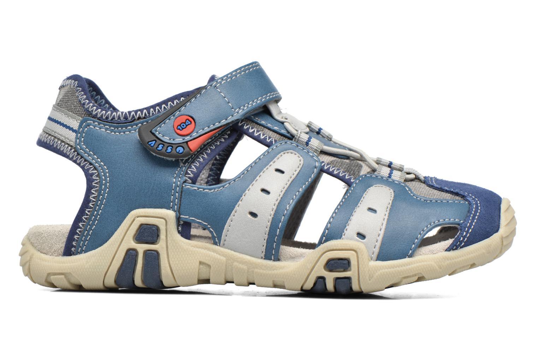 Sandals ASSO Rodrigo Blue back view