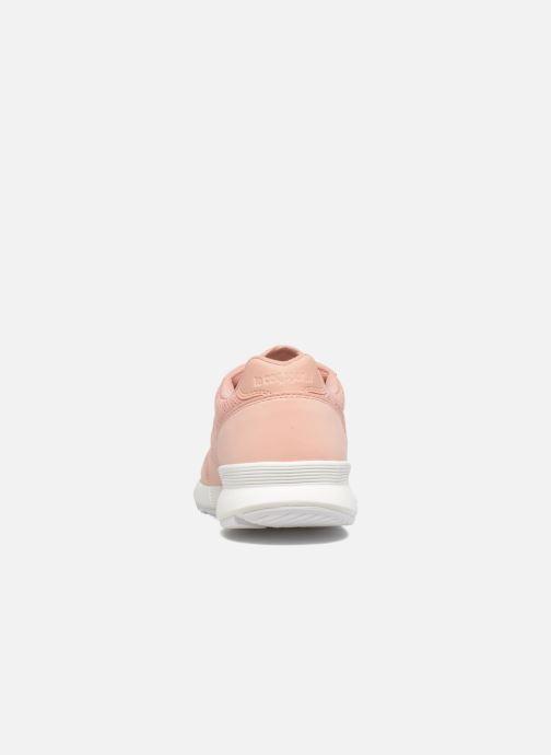 Sneaker Le Coq Sportif Omega X W Reflective rosa ansicht von rechts