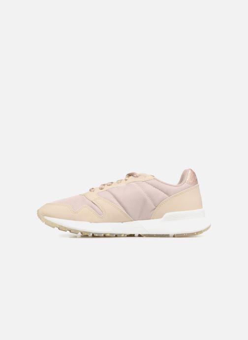 Sneakers Le Coq Sportif Omega X W Metallic Beige immagine frontale
