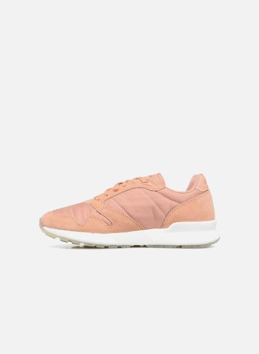 Sneakers Le Coq Sportif Omega X W Metallic Rosa immagine frontale