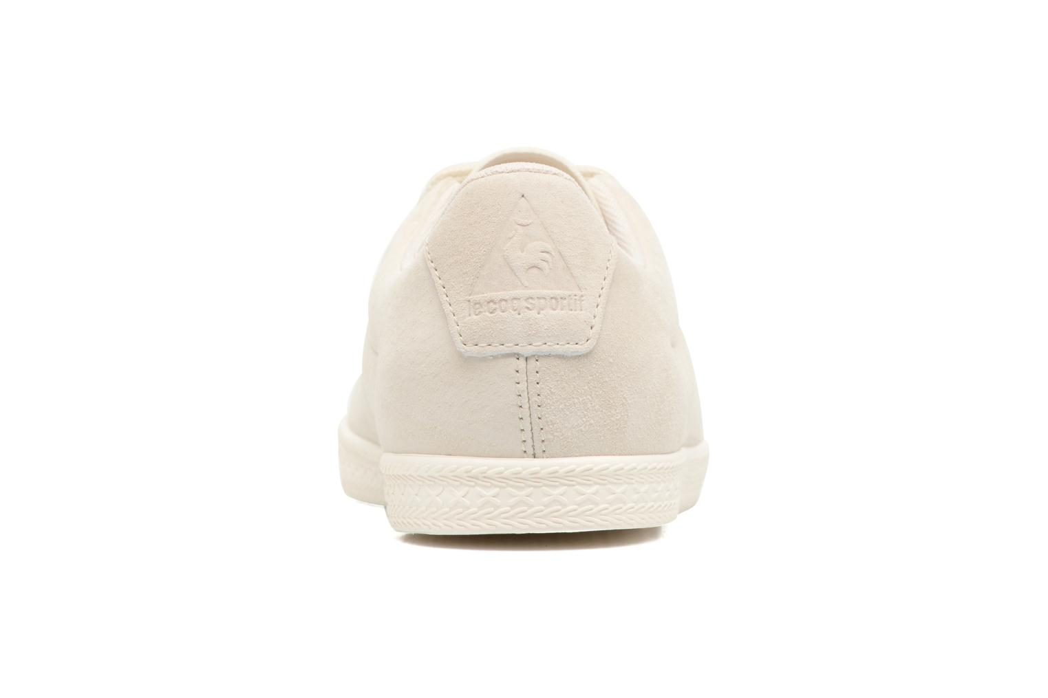 Trainers Le Coq Sportif Charline Nubuck Beige view from the right