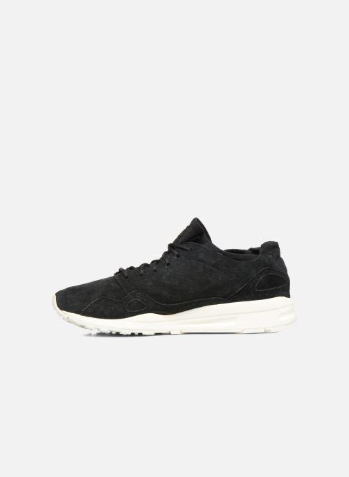 Sneaker Le Coq Sportif Lcs R Flow Nubuck schwarz ansicht von vorne