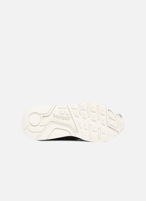 Sneaker Le Coq Sportif Lcs R Flow Nubuck schwarz ansicht von oben