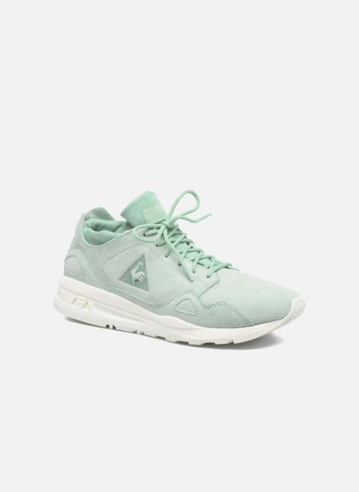 1bab1952b30c Trainers Le Coq Sportif Lcs R Flow Nubuck Green detailed view  Pair view