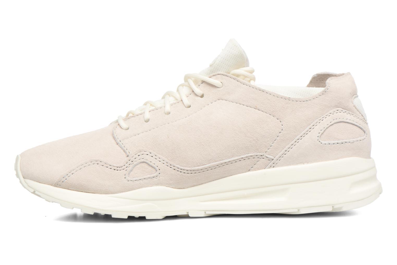 Sneakers Le Coq Sportif Lcs R Flow Nubuck Beige immagine frontale
