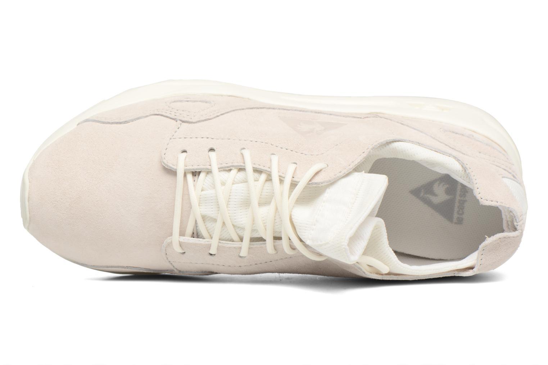 Sneakers Le Coq Sportif Lcs R Flow Nubuck Beige immagine sinistra