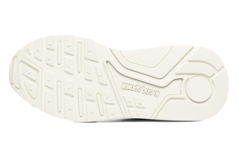 Sneakers Le Coq Sportif Lcs R Flow Nubuck Beige immagine dall'alto