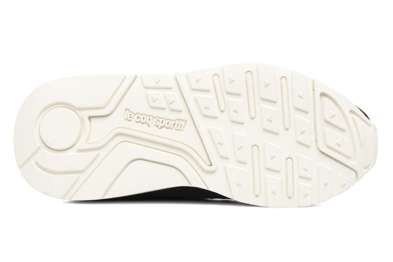 Sneakers Le Coq Sportif Lcs R Flow Nubuck Nero immagine dall'alto