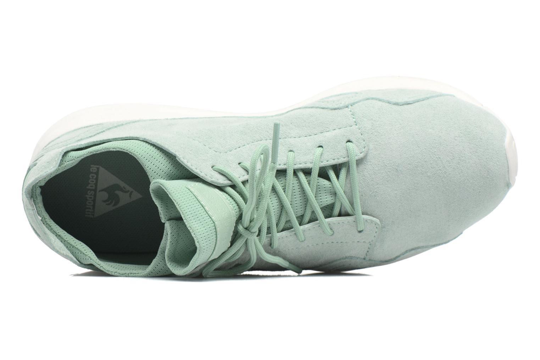 Sneakers Le Coq Sportif Lcs R Flow Nubuck Verde immagine sinistra