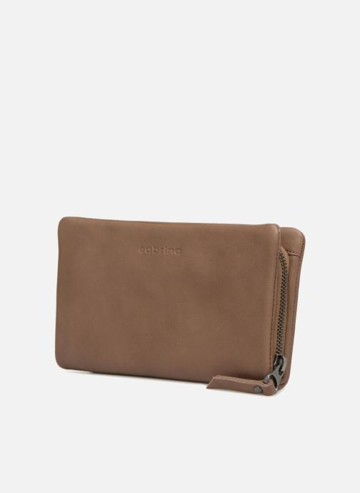 Wallets & cases Sabrina Cara Beige model view
