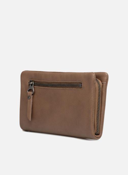 Portemonnaies & Clutches Sabrina Cara beige ansicht von rechts