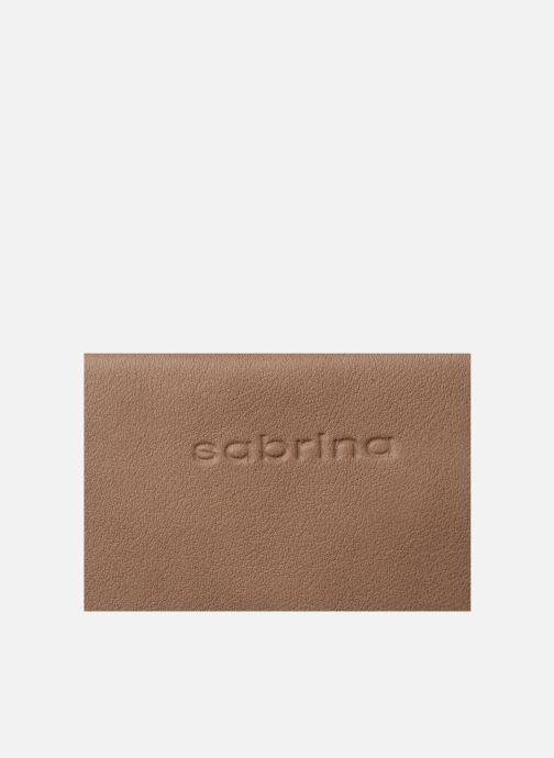Portemonnaies & Clutches Sabrina Cara beige ansicht von links
