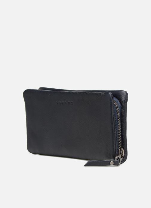 Wallets & cases Sabrina Cara Blue model view